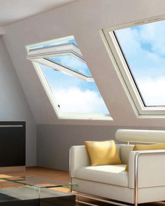 Finestra da tetto a bilico centro finestre per tetti for Finestra bilico